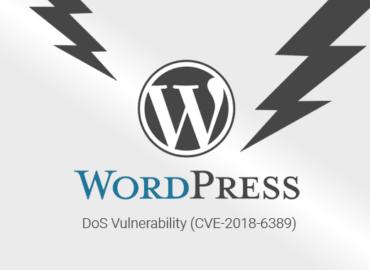 Patch de la faille CVE-2018-6389 (DOS WordPress)