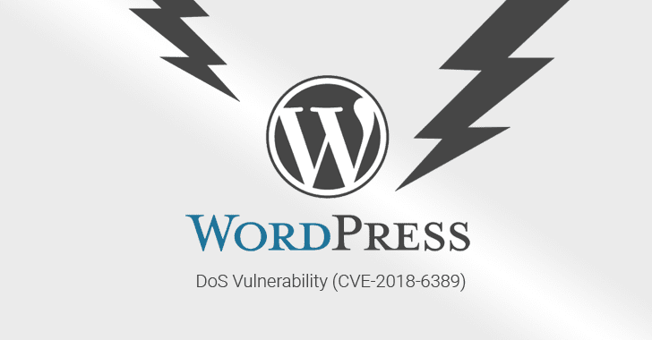 Patch de la faille CVE-2018-6389 (DOS WordPress)